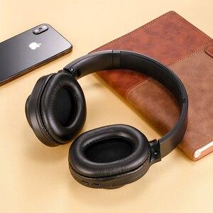 Image 3 - SANLEPUSใหม่หูฟังไร้สายบลูทูธชุดหูฟังสเตอริโอหูฟังหูฟังพร้อมไมโครโฟนสำหรับโทรศัพท์มือถือPC