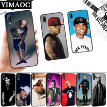 Chris Brown Breezy Silicone Soft Case for Huawei P8 P9 P10 P20 P30 Lite Pro P Smart Z Plus chris brown breezy silicone soft case for huawei p8 p9 p10 p20 p30 lite pro p smart z plus