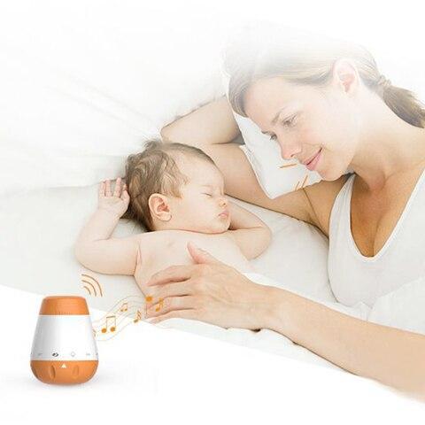 de som sensor voz recarregavel bebes bebe ruido branco