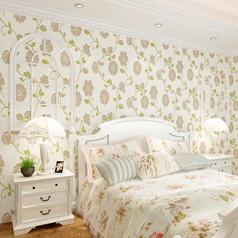 3D Pastoral Style Wallpaper Minimalist Modern Non-woven Wallpaper Bedroom Living Room CHILDREN'S Room TV Backdrop Wallpaper