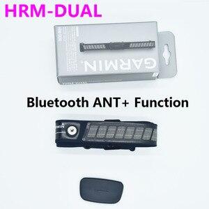 Image 1 - Garmin HRM DUAL Nhịp Tim ANT + & Bluetooth Chạy Nhịp Tim Bơi Chạy Đi Xe Đạp Cho Edge 500 510 705 735XT fenix3 Dây 2020