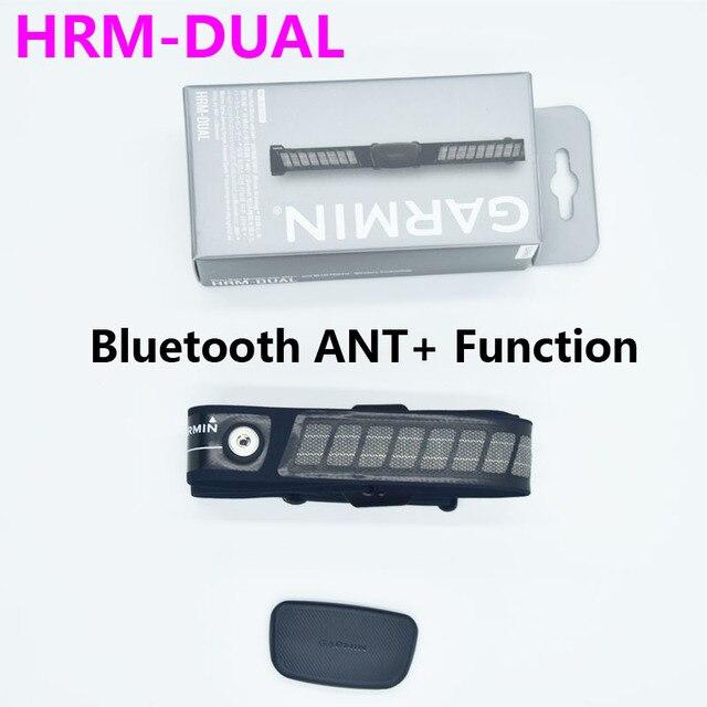 Garmin HRM DUAL Nhịp Tim ANT + & Bluetooth Chạy Nhịp Tim Bơi Chạy Đi Xe Đạp Cho Edge 500 510 705 735XT fenix3 Dây 2020