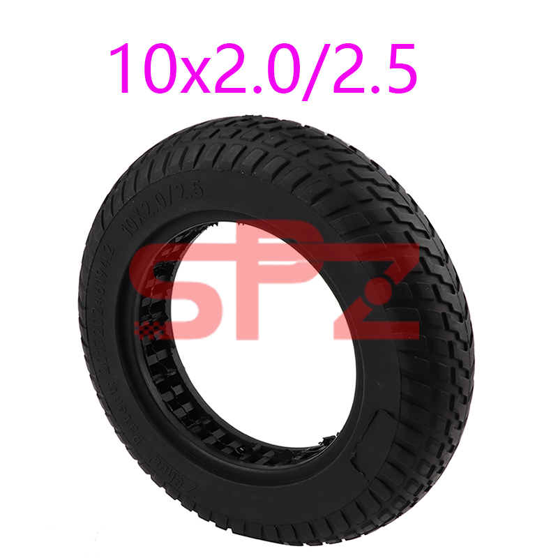 10-дюймовая шина для электрического скутера 10x 2/10x2,5, резиновые колеса с твердыми шинами