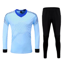 Custom Profession Adult Soccer Goalkeeper Uniform Jersey Set Football Doorkeepers Training Uniforms set
