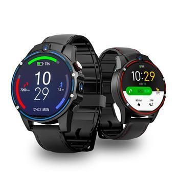 Kospet Vision Smart Watch Phone 1.6inch 3G+32G 8.0MP Front-facing Dual Camera 4G-LTE Video Call 800mAh Google Play Smart Watch