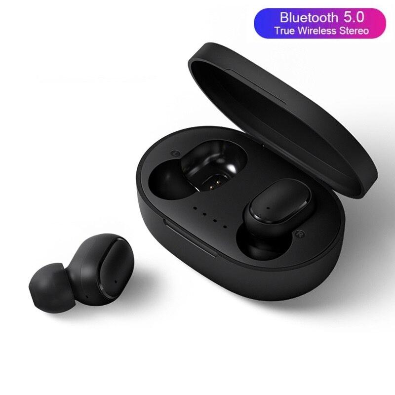 Беспроводные наушники, Bluetooth наушники A6S TWS, шумоподавляющие стереонаушники, спортивные наушники, гарнитура с автоматическим сопряжением и ...