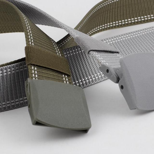 Plastic Buckle Nylon Casual Tactical Belt 6