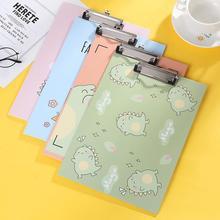 Almohadilla de escritura de tablero de dibujos animados para estudiantes, suministros de oficina, tablillas de placa, tablet, tamaño A4