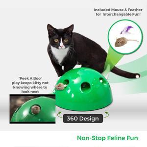 Image 2 - Katze Spielzeug Interaktive Pop Spielen Pet Spielzeug Ball Lustige Traning Katze Spielzeug Kratzen Gerät Für Katze Schärfen Klaue Kätzchen Spielzeug pet Liefern