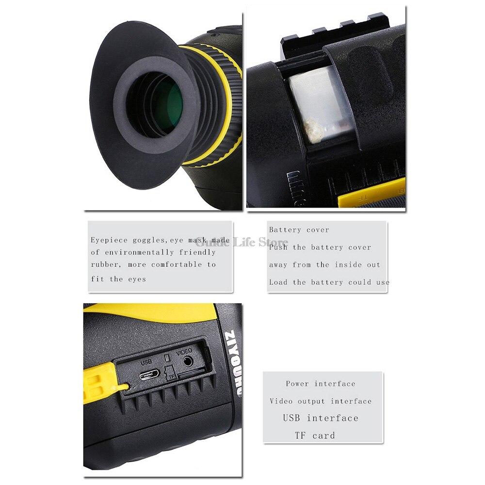 infravermelho ir filmadora caça monocular escopo multi-função