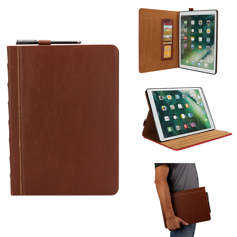 Image 2 - PU Leather Fashion Tablet Case For Apple ipad Pro 12.9 inch 2017  2016 /ipadPro 12.9 A1584 A1670 Cover Protection Capa FundasTablets