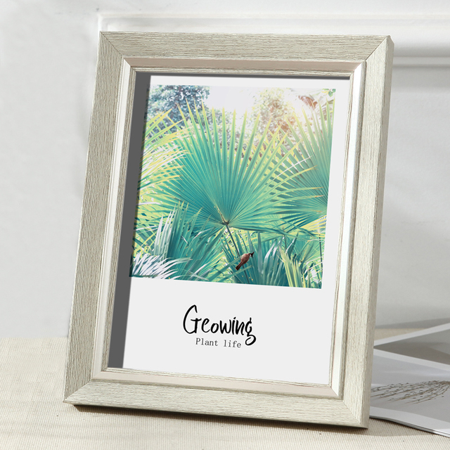Beautiful Nordic Picture Frame Color: B Size: 6 inch