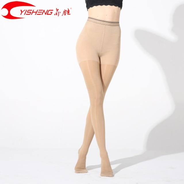 Findcool דק דחיסת גרביונים Slim דליות נשים קיץ גרביים רפואיים 15 20mmHg