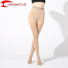Findcool fina compressão meia calça fina varicosas veias femininas verão meias médicas 15 20mmhg