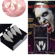Halloween Vampire 17Mm Denture Cosplay Masquerade Props Zombie Teeth Small Tiger Braces Resin