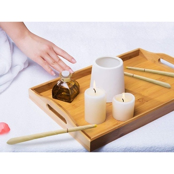 Hollow Ear Candles Remove Ear Wax Stress Relief Natural Herbal Scented Aromatherapy Ear Candle Earwax cerumen removal tool set 2 1inch round magic cube candle soy wax aromatherapy candles scented candle relaxing birthday gift