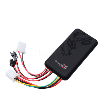 Realtime Tracking 4 Band Car Gps Tracker Support GSM/GPRS/GPS, TCP/IP Real Time Tracking By SMS/GPRS Overspeed Alarm/ SOS Alarm image