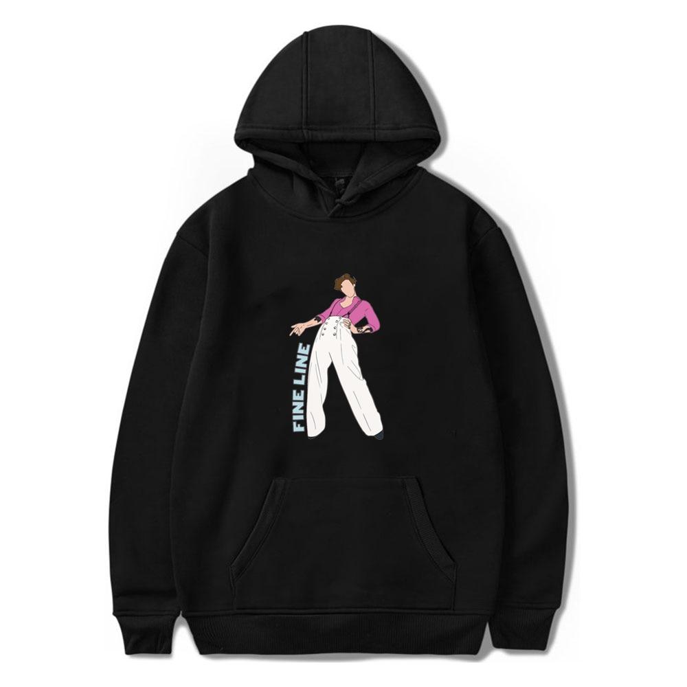 Fine Line Harry Styles Hoodie Men/Women Hooded Sweatshirts Harajuku Graphic Male Pullover Hip Hop Streetwear Trendy Spring Tops