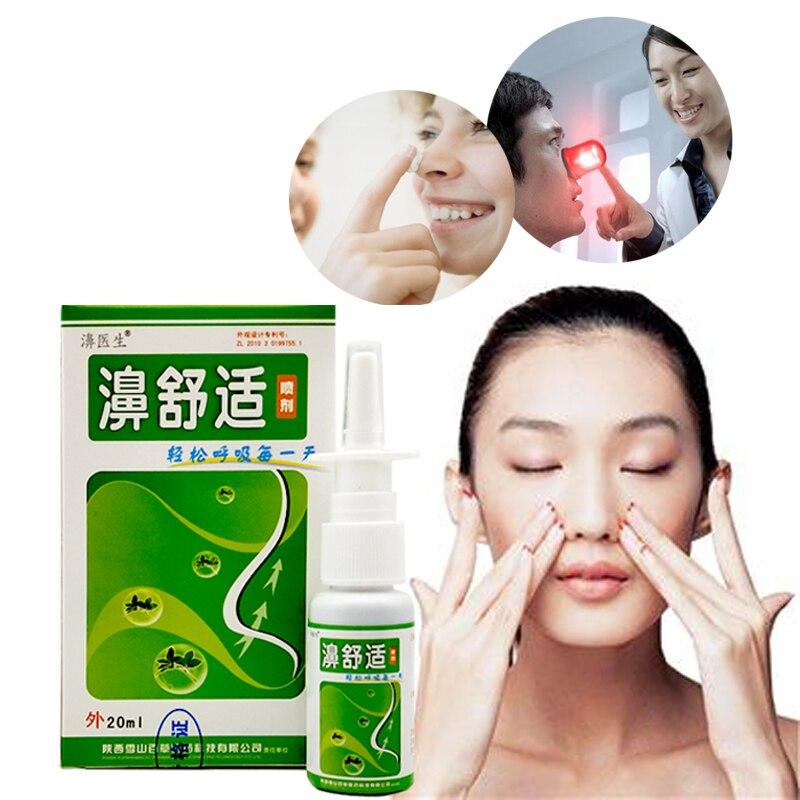 3PCS Chronic Rhinitis Sinusitis Spray Chinese Herb Medical Spray Cure Rhinitis Sinusitis
