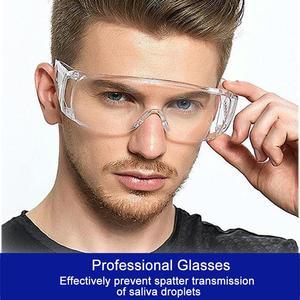 Прозрачные защитные очки из поликарбоната, анти-пылезащитные очки, очки для защиты глаз, рабочие очки для спорта на открытом воздухе, мотоци...