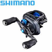 Nuovo Shimano Mulinello Slx Xt Baitcast Bobina di Pesca Nuovo Svs Infinity Sistema di Frenatura di Alluminio Hagane Del Corpo