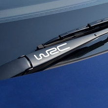 4 Uds coche ventana limpiaparabrisas pegatina del WRC Audi A3 A4 B8 B6 B7 A5 Opel Astra BMW E46 E90 E60 E39 F30 Ford Focus 2 3 1 Peugeot Toyota