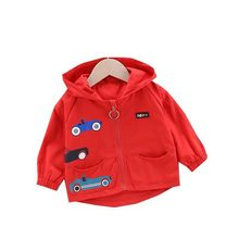 Children Clothes Spring Autumn Kids Cartoon Hooded Jackets Baby Boys Girls Cotton Clothing Toddler Infant Hoodies Leisure Coat best selling baby outerwear for spring autumn retail children s coat boys hoodies jackets kids cartoon clothes