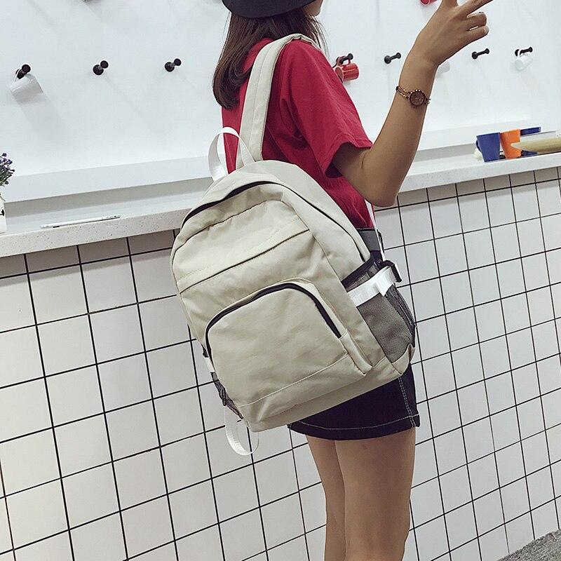 mochila de viagem para adolescentes mochilas multi-bolso bolsa de ombro mochila