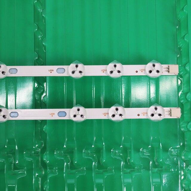 2pcs x 32 inch LED Backlight Strip Replacement for VESTEL 32D1334DB VES315WNDL 01 VES315WNDS 2D R02 VES315WNDA 01 11 LEDs 574mm