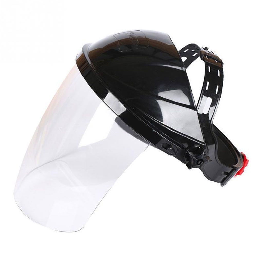 Clear Grinding Solder Mask Safety Face Shield Screen Mask Half Helmet Household  Helical Welding Helmet For Welding