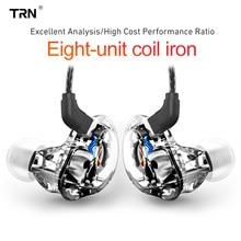 Auriculares intrauditivos híbridos TRN V10 2DD + 2BA, auriculares HIFI con Monitor de DJ, para correr, deporte, V20, V80, V30, AS10, N1, T2, VX, V90, BA8