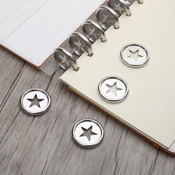 1pcs 28mm Notebook Mushroom Hole Button Plastic Accessories Button Loose Book Discs A5 Book DIY Discbound Buckle Binder