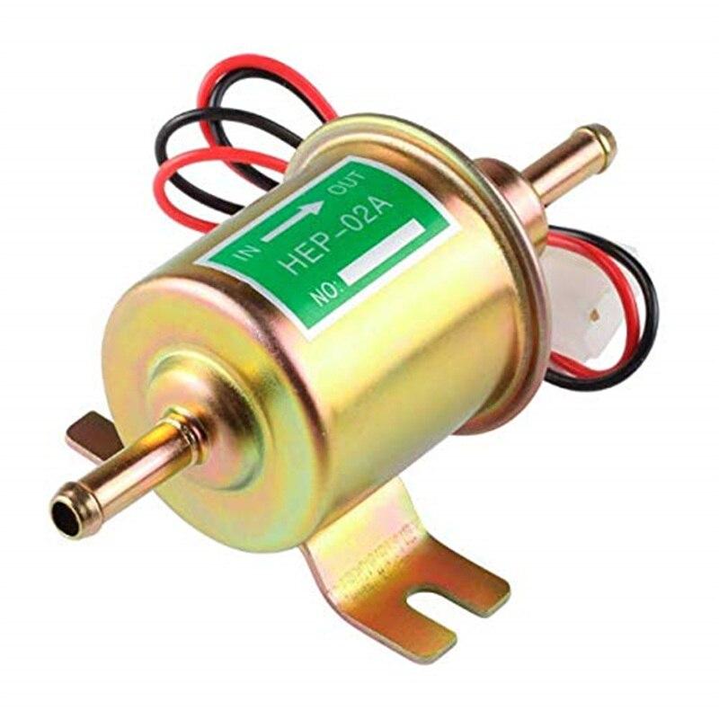 12v 24v bomba de combustível elétrica inline