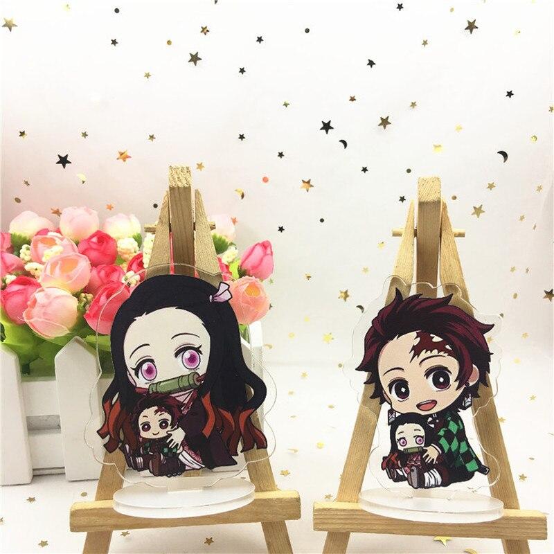Set of 3 Demon Slayer Kimetsu Yaiba Anime Acrylic Keychain Sabito Makomo Giyuu