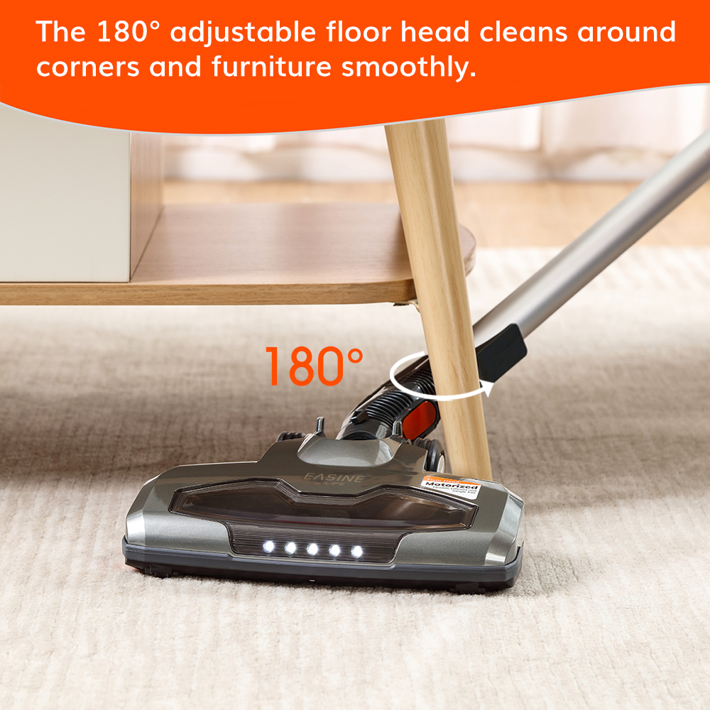 EASINE by ILIFE H70 Handheld Vacuum Cleaner, 21000Pa Strong Suction Power, 40Minutes runtimes, removable battery, 1.2L Dust box 4