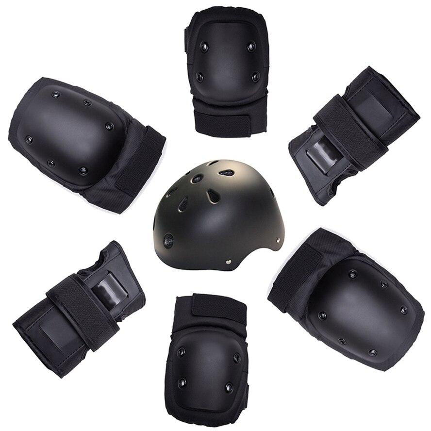 Защитные наколенники для катания на роликах, 7 шт./компл.