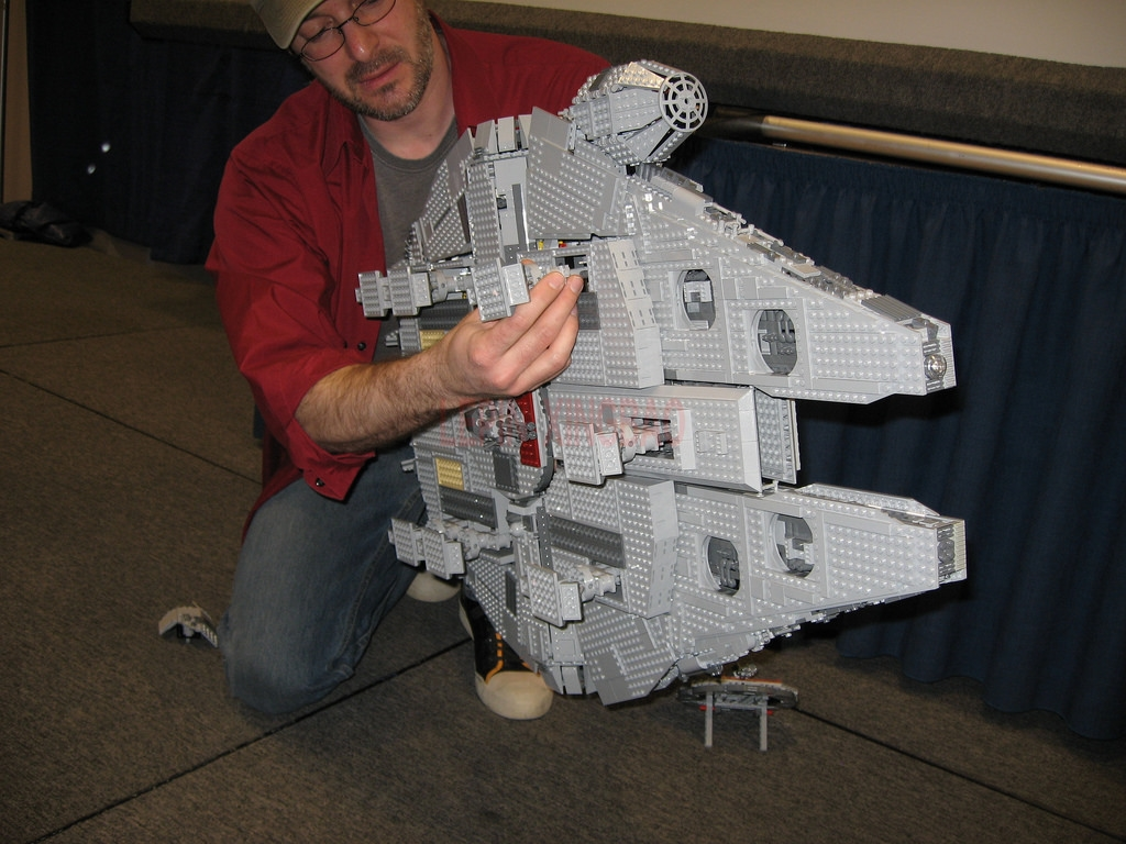 Millennium Falcon Lepin 8445pcs Compatible 75192 Star wars Series Ultimate Collectors Model Building Bricks Toys 52