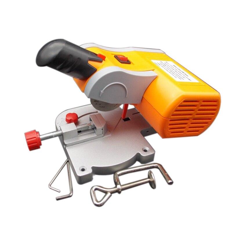 Mini Cut-off Saw,Mini Cut Off Saw/Mini Mitre Saw/Mini Cnc Router, 7800rpm Cut Ferrous Metals Non-ferrous Metals Wood Plastic