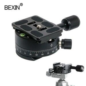 Image 1 - Câmera braçadeira panorâmica tiro braçadeira tripé monopé placa de liberação rápida montagem girar braçadeira para placa arca dslr câmera tripé