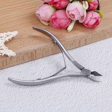 AACAR Vinger nail Teennagel Cuticle Nipper Trimmen Rvs Nail Clipper Cutter Cuticle Schaar Tang Manicure Tool(China)