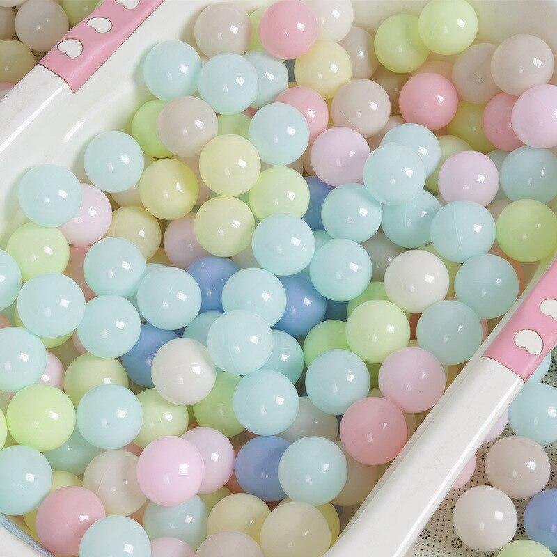 Macaroon Color Children Marine Ball Ocean Ball Toy Thick Environmentally Friendly Baby Amusement Park Ball