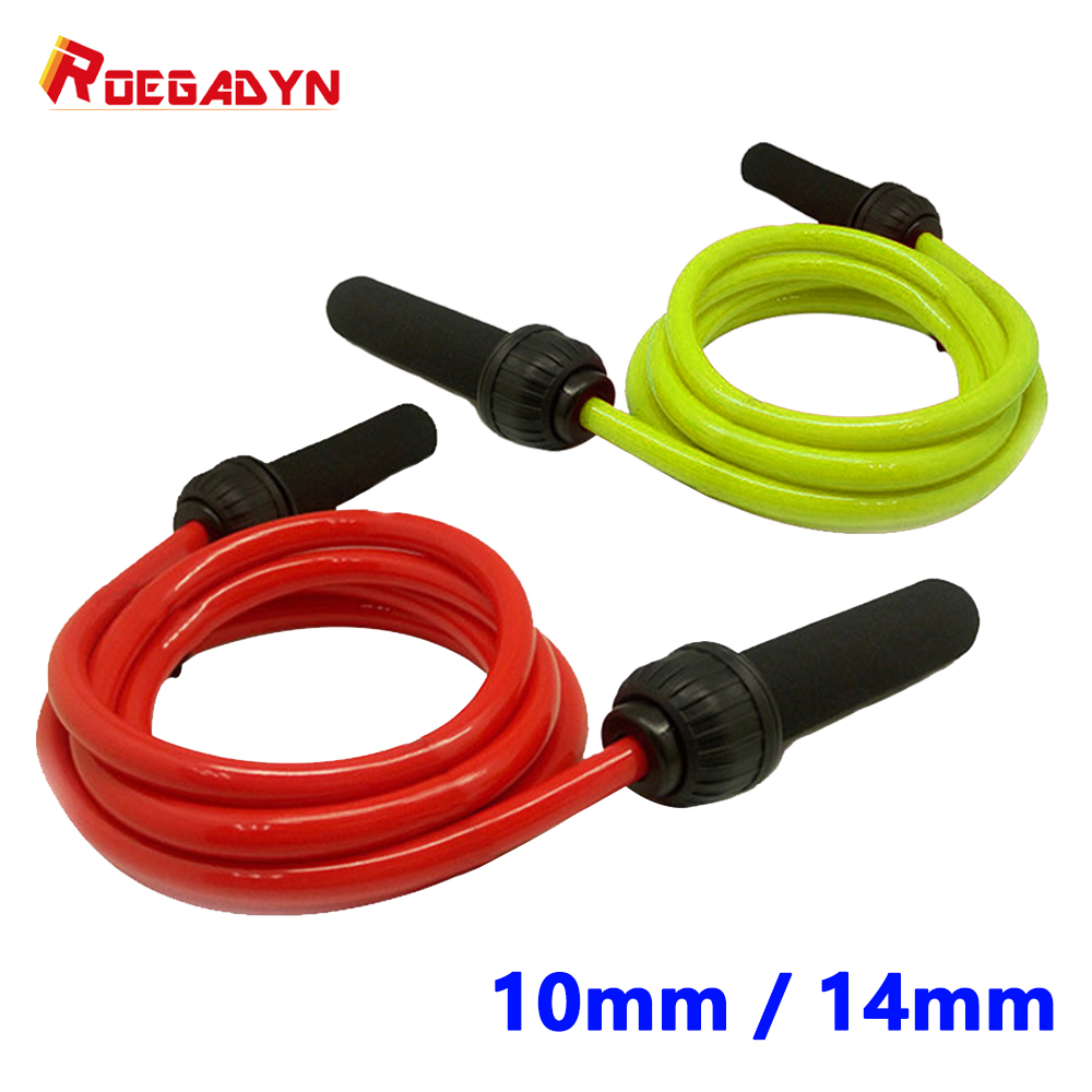 Fitness Equipment Explosive weight-bearing bold and <font><b>heavy</b></font> sport jump <font><b>rope</b></font> Fitness exercise adjustable <font><b>skipping</b></font> image