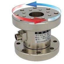 Statica sensore di coppia di torsione flangia tipo di cella di carico sensore di coppia statici tester di coppia rotary coppia senor 0 5000N.M scelte