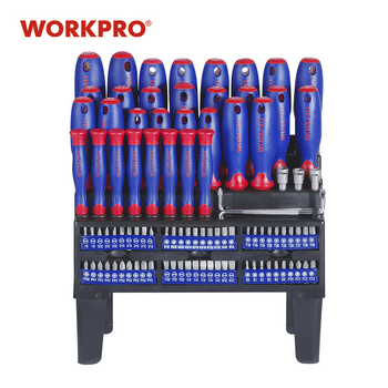 WORKPRO 100PC Schroevendraaier Set Home repair Tool multi bits set Precision Screwdrivers For Telefoon Screw Driver penggong 9pcs precision screwdriver set multi bit tools repair screw driver screwdrivers kit for cross head for flat head tool