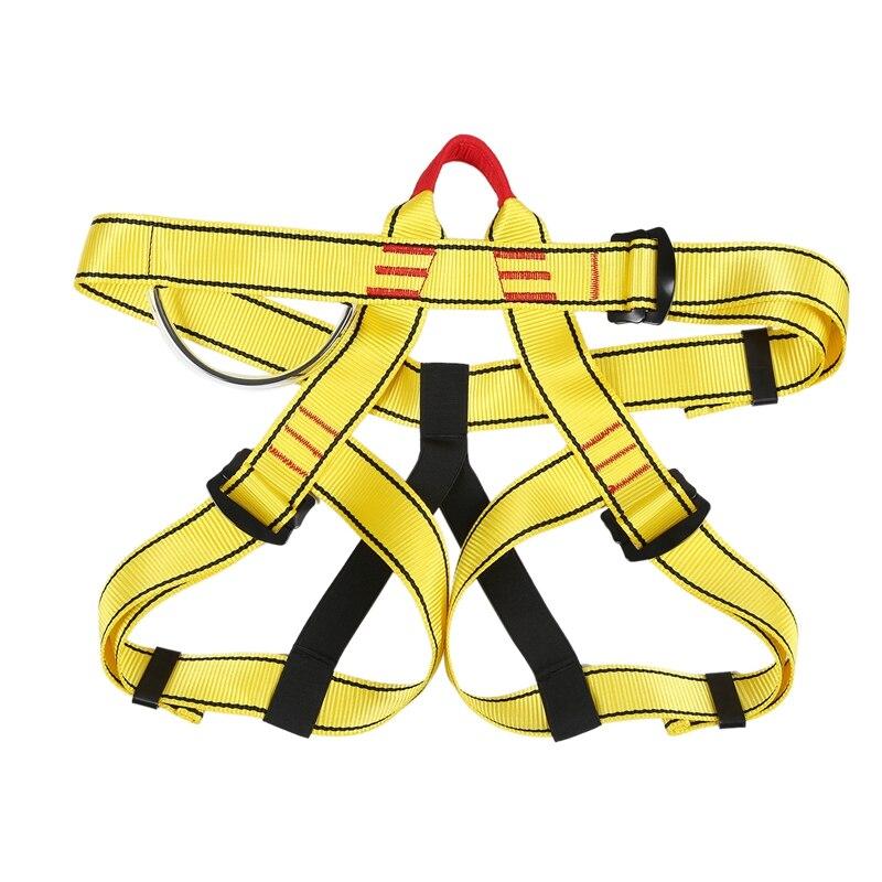 Outdoor Climbing Mountain Climbing Fall Protection Seat Belt Rappelling Half Body High Altitude Insurance Belt Seat Belt|Climbing Accessories| |  - title=