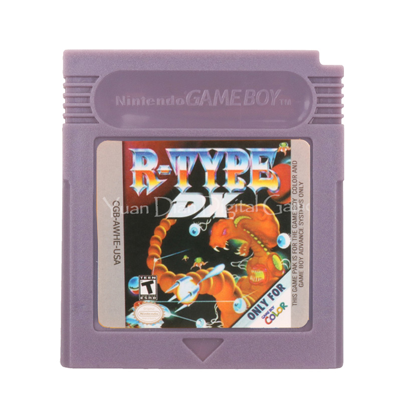 For Nintendo GBC Video Game Cartridge Console Card R-Type DX English Language Version