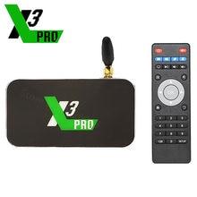 Оригинальная Смарт ТВ-приставка UGOOS X3 PRO X3 CUBE 4 Гб DDR4 32 Гб Amlogic S905X3 Android 9,0 2,4G 5G Wifi 1000 Мбит/с 4K медиаплеер