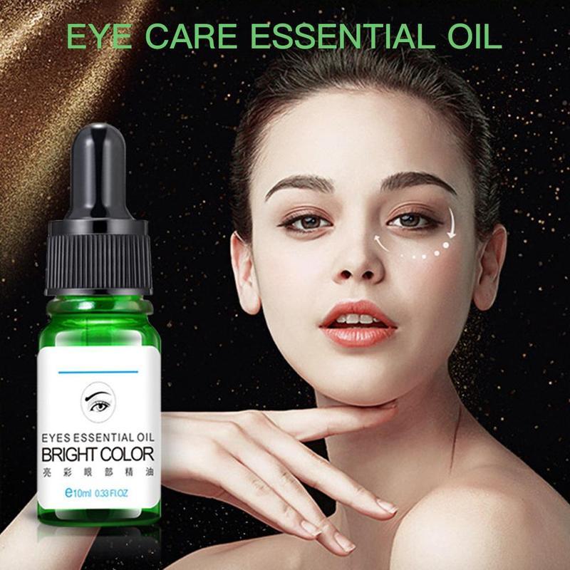 10 мл эфирное масло для глаз для темных кругов под глазами уход за лицом против морщин уход за кожей масло против старения красота массажное