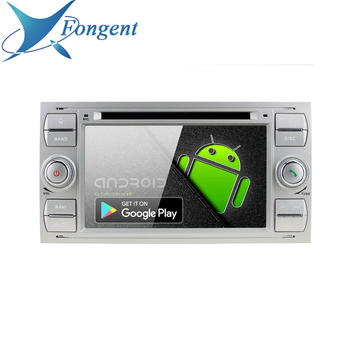 For Ford Mondeo Focus Fiesta Transit Galaxy Fusion C-MAX S-MAX C S MAX Radio DVD Radio Player Black silver Android Multimedia