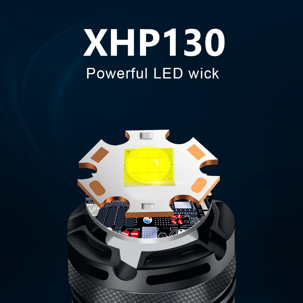 lanterna led poderosa xhp130 18650 lm 01